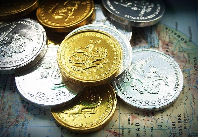 lev na mincích