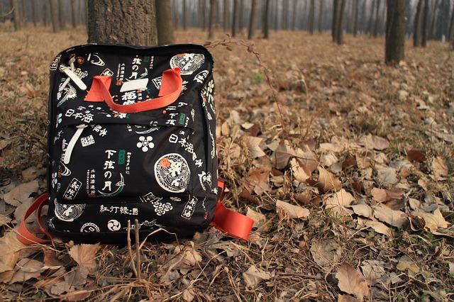 batoh v lese