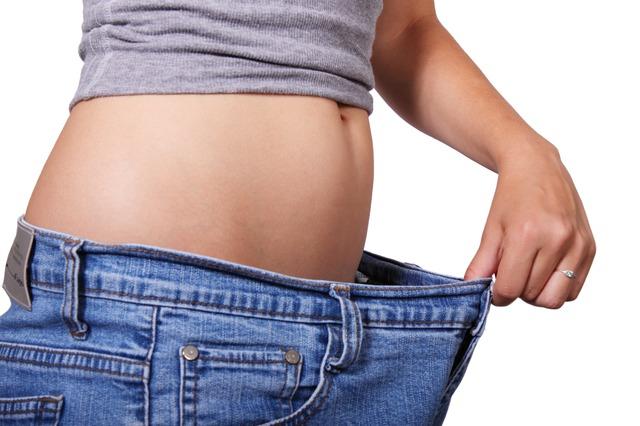 známka zhubnutí