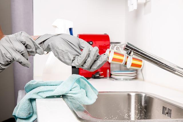 rukavice na čištění