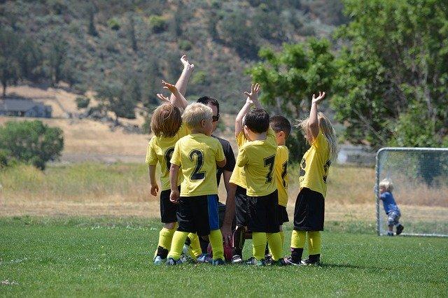 malí sportovci
